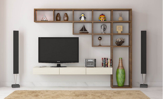 having a good furniture design for tv unit will add your pleasure to