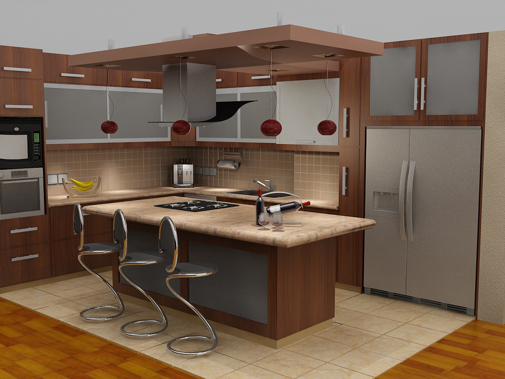 Beautiful kitchen cabinets - Islas de cocina ...