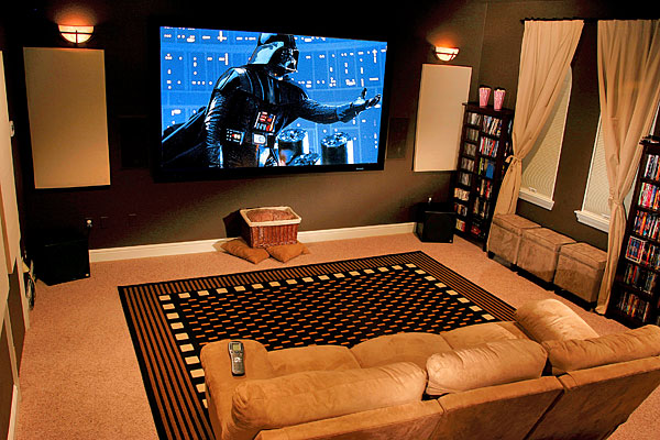 Home cinema designs and ideas for House plans with theater room