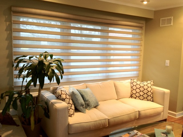 Window treatment dress them the best for Window coverings for large picture window