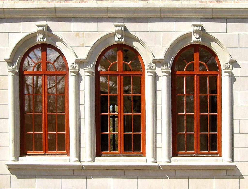 Beautiful wall designs for homes for Window design for house in india