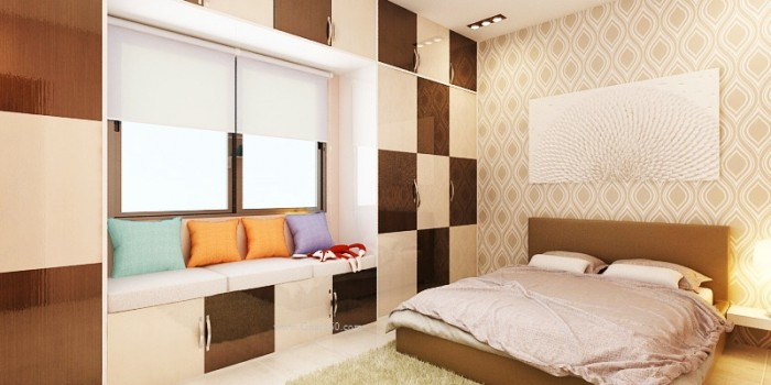 Modern Bedroom Wardrobe Design Ideas