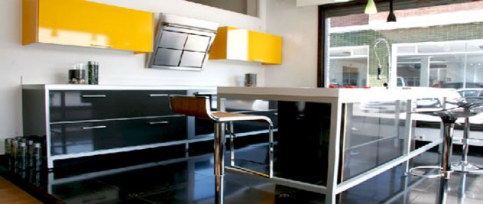 Yellow Indian Parallel Kitchen