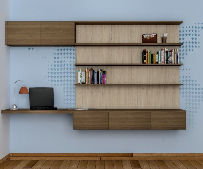 Complete With Bookshelf