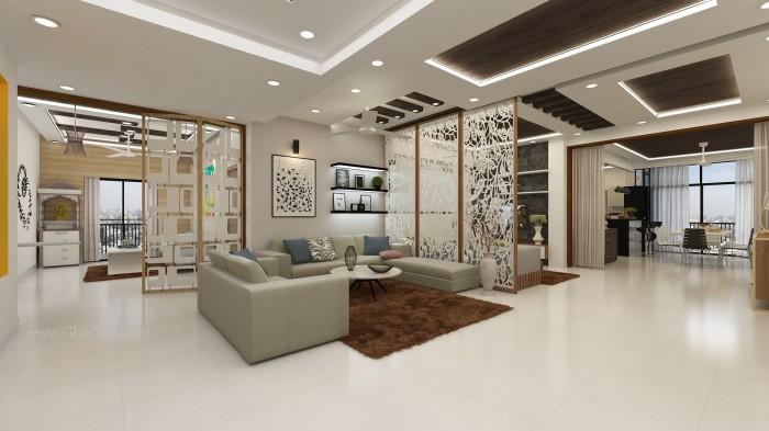 Luxury Interior Design By Ghar360 Best interior design firm in