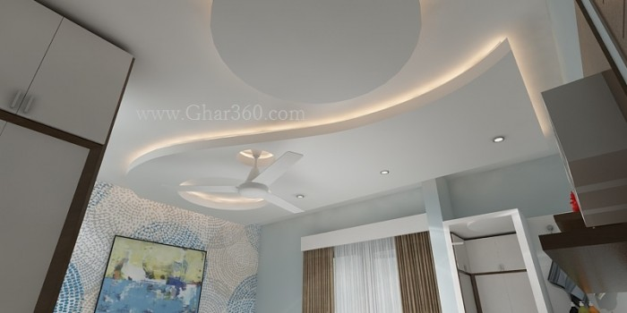 Bedroom Ceiling Round Shape