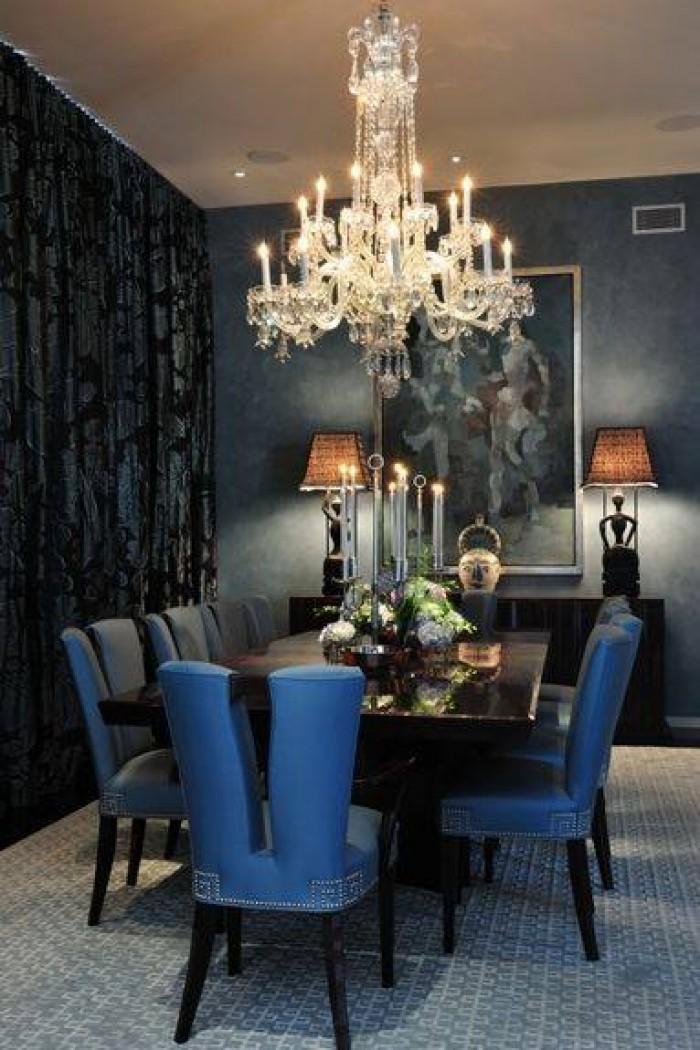 elegant modern dining rooms design. Black Bedroom Furniture Sets. Home Design Ideas