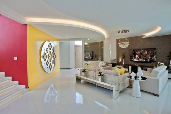 Elegant modern living room for Modern elegant living room designs