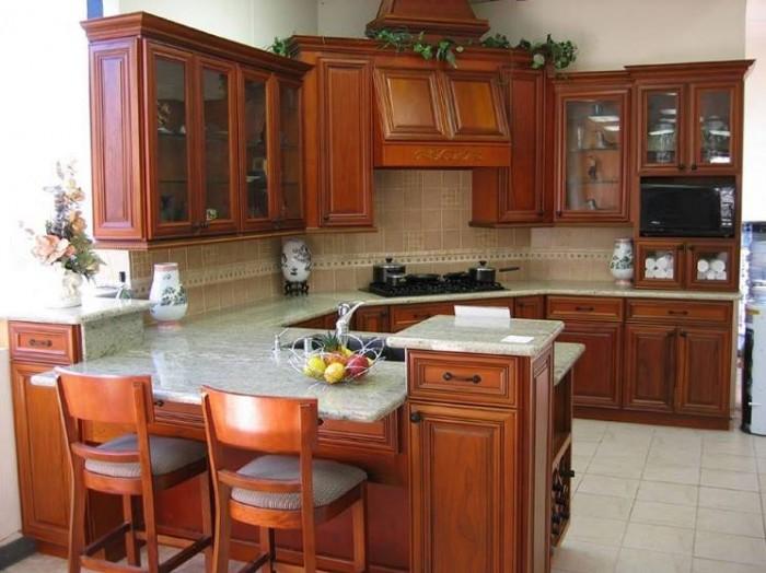 Elegant Wooden Kitchen Cabinet