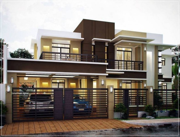 Ghar360 home design ideas photos and floor plans for Modern residential architecture floor plans