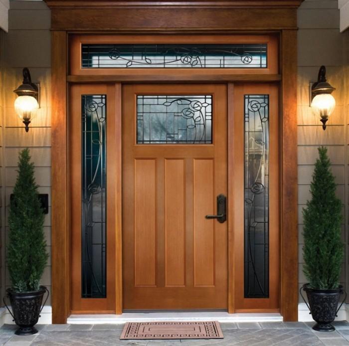 Modern front single door designs for Modern single door design