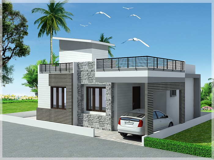 Ghar360 home design ideas photos and floor plans for 3 storey building front elevation