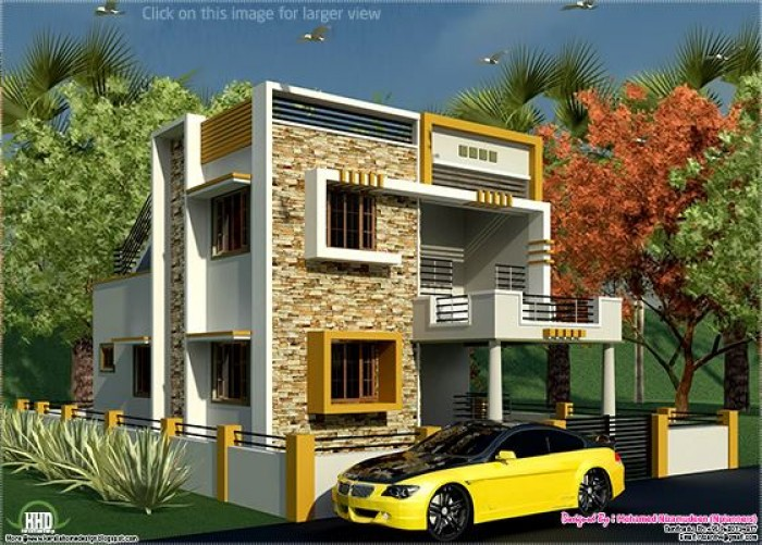 South Indian Style New Modern House