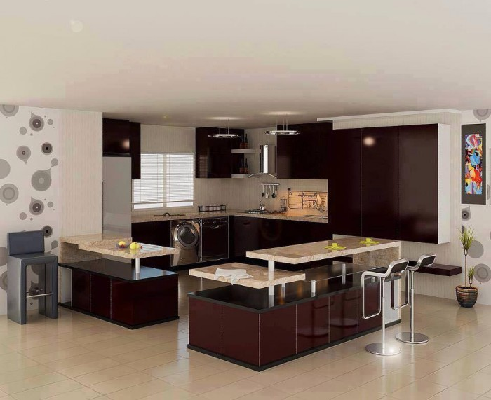 10 beautiful modular kitchen ideas for indian homes for Kitchen design details