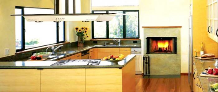 Light oak indian g shaped kitchen for G shaped kitchen