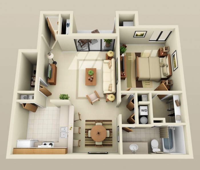 1 bhk home design for 1 bhk home designs