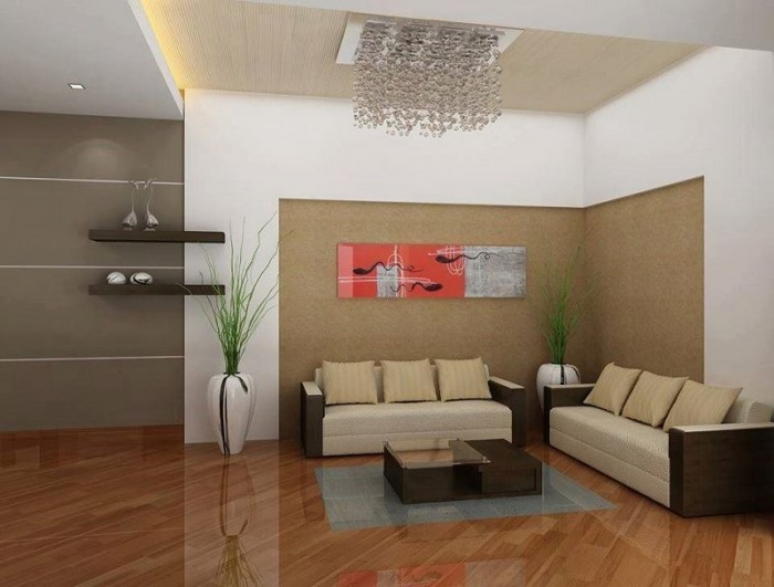 Simple kerala living room designs living room for Living room interior in kerala