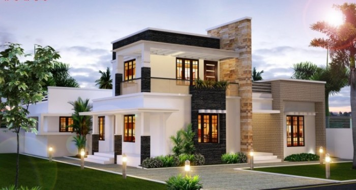 Incredible modern delightful fresh house design idea for Incredible house designs