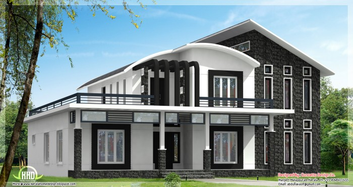 Traditional Home Elevation