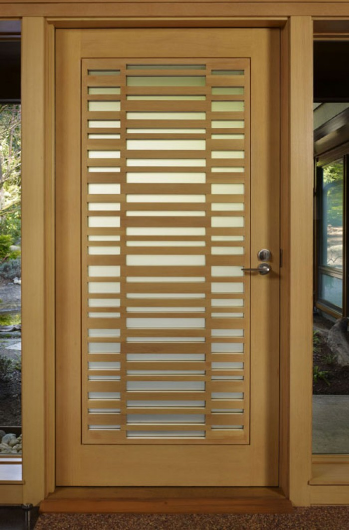 Wooden safety door designs for homes for Doors by design