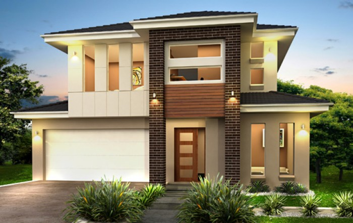 Ghar360 home design ideas photos and floor plans for Double story house design
