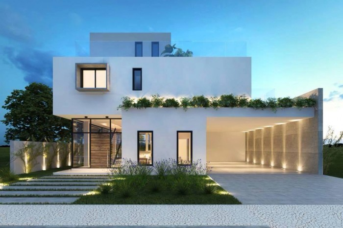 Contemporary Residences With Elegant Exteriors
