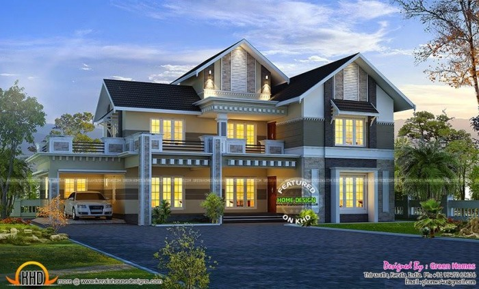 Beautiful Mansion Designs New Home Designs Latest Modern: Ghar360- Home Design Ideas, Photos And Floor Plans
