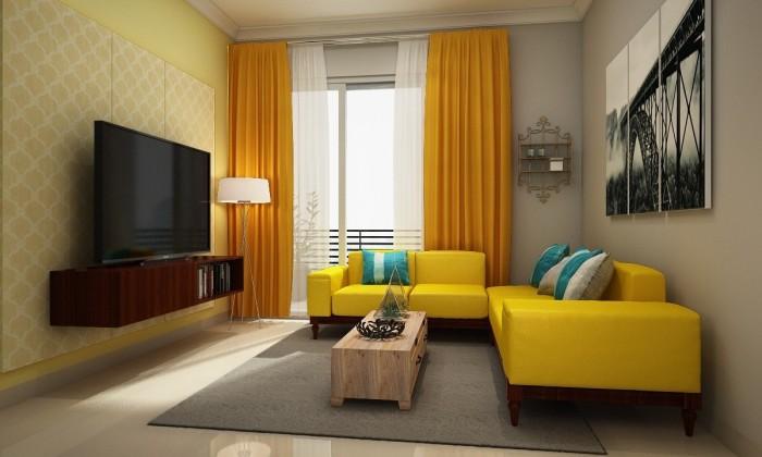 Chic Elegant Living Room