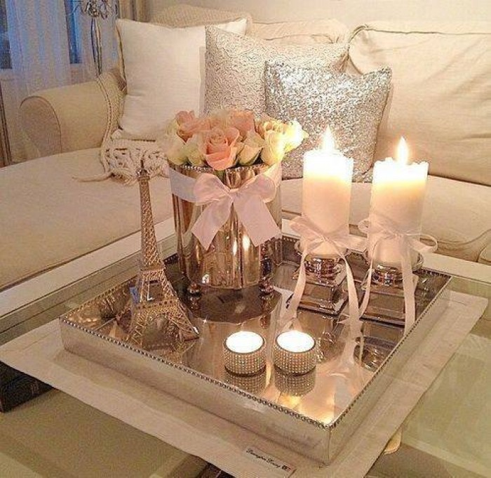 Living Room Table Centerpieces: Coffee Table Decor Design
