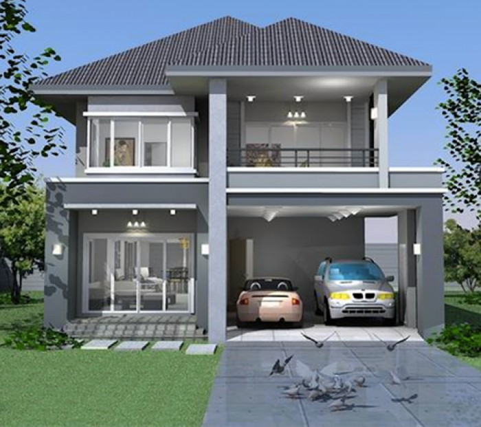 Front Elevation Please : Contemporary front elevation idea