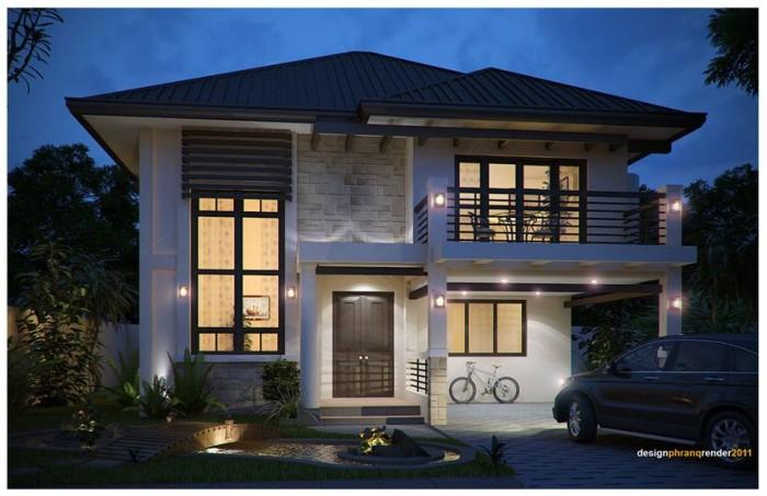 Modern Residences Exterior Design Idea