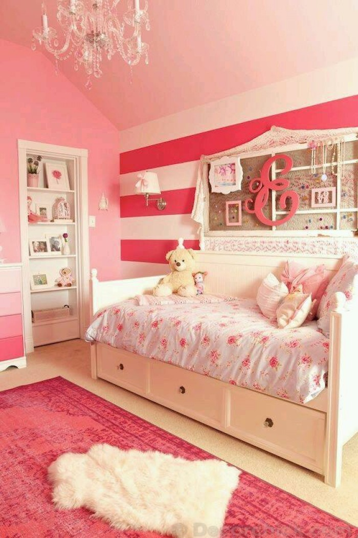 Kids room decorating ideas for shared rooms Little girls bedroom decorating ideas