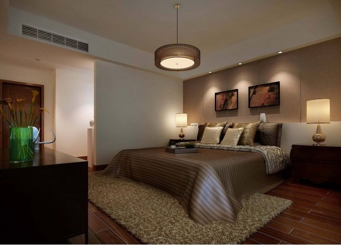 Master bedroom interior design idea for Bedroom designs photos