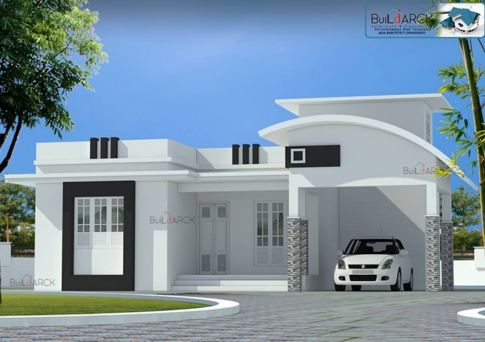 New House Front Elevation Photos : Simple and beautiful front elevation design