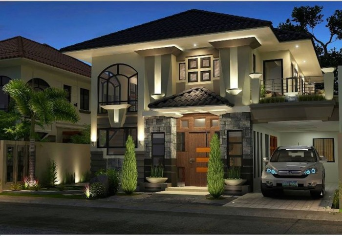 Stunning architectural design 2 story home for Stunning architectural homes