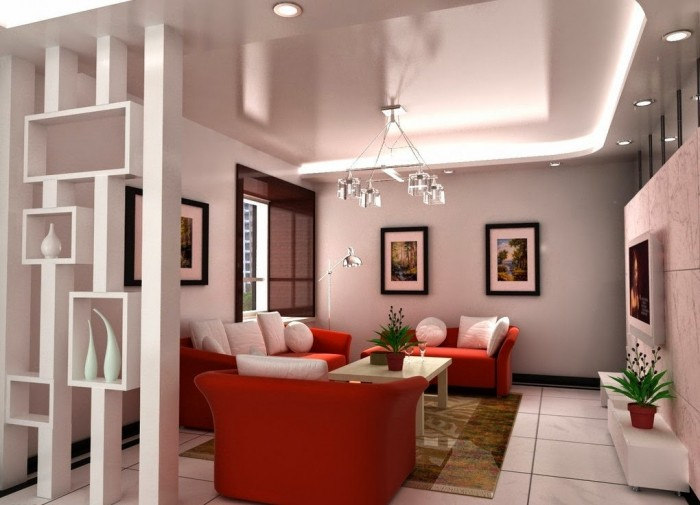 Modern room partition designs for Wall design in hall