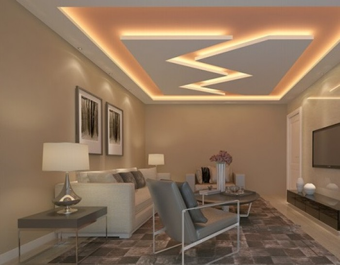 False ceiling designs - Simple ceiling design for living room ...