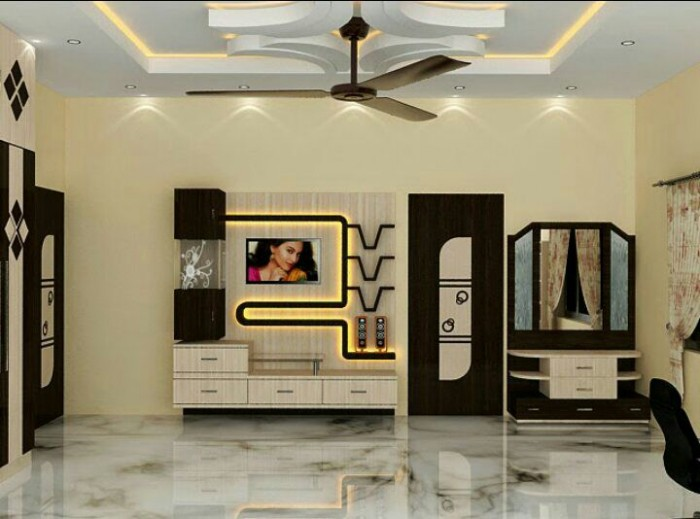 Minimalist house design ideas - 7 Cool Contemporary Tv Wall Unit Designs For Your Living Room