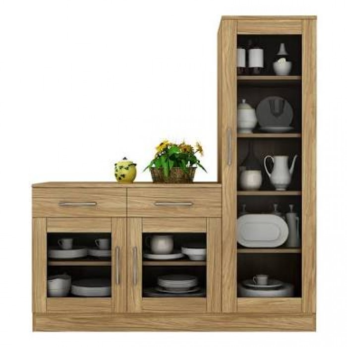 Crockery Unit Designs In Dining Room
