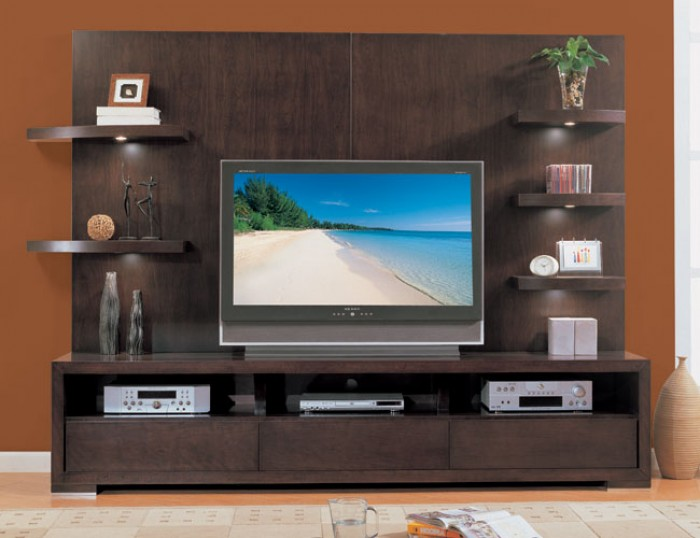Modern living room tv wall unit - Contemporary tv wall unit designs ...