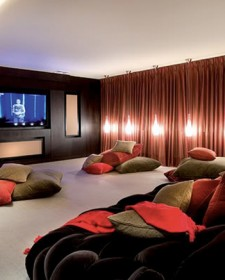 Wonderful Home Theater Design Ideas