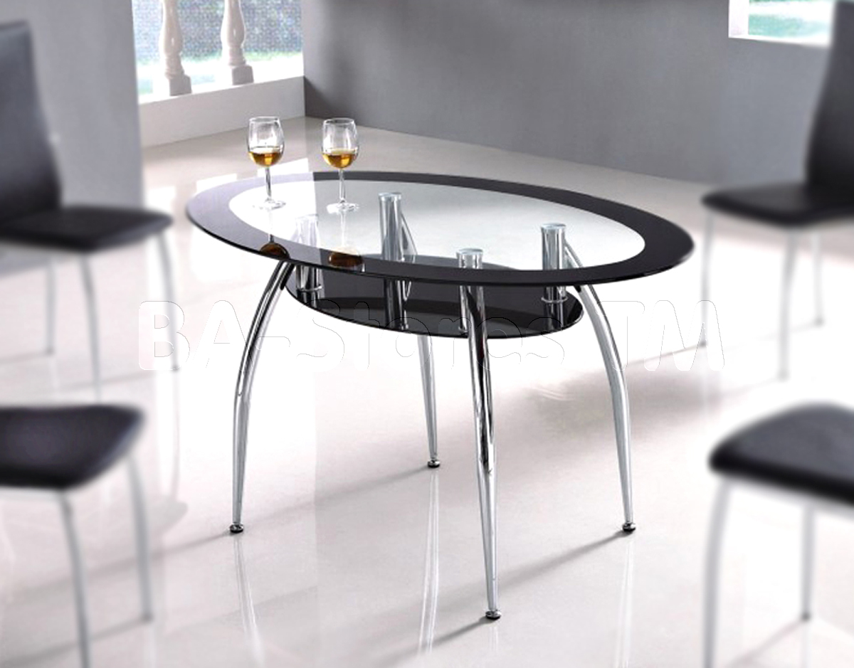 Picture of: Dining Tables With Oval Glass Top For Dining Room Ideas With Stunning Furniture Glass Tables Dining Room Inspiration Decoration