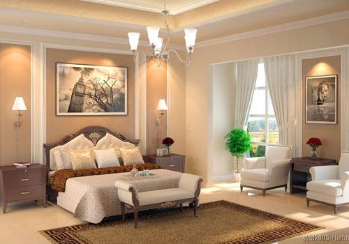 Create a magical master bedroom design for Bedroom design creator