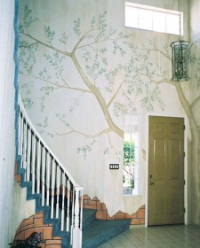 Mural wall art for interiors